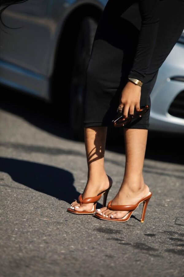 Slay Shoes Cardi Brown Shoes